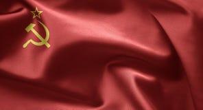UDSSR-Markierungsfahne Lizenzfreie Stockfotografie
