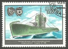 UDSSR, Unterseeboot C-56 Lizenzfreie Stockfotografie