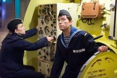 UDSSR-Unterseebootseeleute Stockfotos