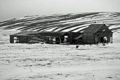 Łudzenie Podpalany Antarctica Obrazy Stock