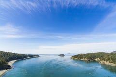 Łudzenie wyspa Zdjęcie Royalty Free