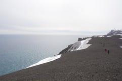 Łudzenie wyspa, Antarktyczna Obrazy Stock