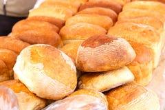 Udział bochenki świeży ryżowy chleb na rynku Fotografia Royalty Free