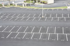 udział liczący parking Obrazy Royalty Free
