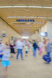 Udział ludzie w terminal Fotografia Royalty Free