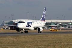 UDZIAŁ - Polskie linie lotnicze zdjęcie stock