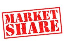 udział w rynku ilustracja wektor
