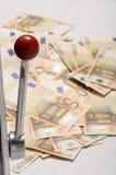 udziału maszynowa pieniądze szczelina Zdjęcia Stock