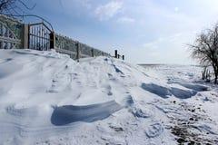 Udziały śnieg Zdjęcia Royalty Free