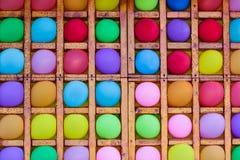 Udziały barwioni balony obrazy stock