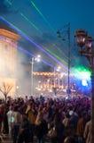 Udziały ludzie na Victoriei trasie Obraz Royalty Free