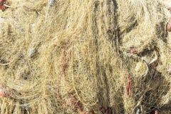 Udziały sieci rybackie w porcie w Sicily, Włochy Obraz Royalty Free