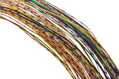 udziałów barwioni druty Zdjęcia Stock