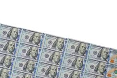 Udział 100 dolarów Zdjęcia Stock