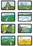 udział road ilustracja wektor