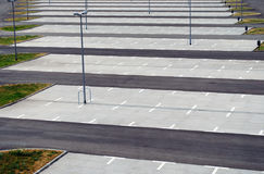 udziału parking Zdjęcia Stock