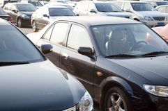 udziału parking Obraz Royalty Free