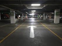 udziału parking sposób Zdjęcie Royalty Free