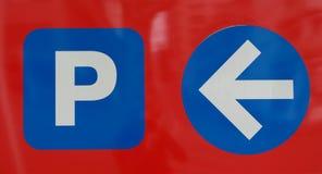 udziału parking znak Fotografia Royalty Free