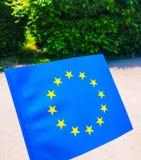 UE σημαία Στοκ Εικόνες