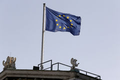 UE σημαία στοκ φωτογραφίες