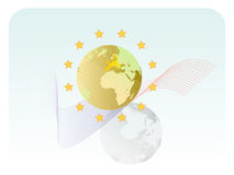 UE ilustración del vector