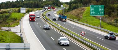 UE da estrada foto de stock