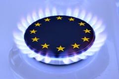 UE de gaz Photos libres de droits