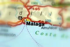 UE de Malaga, Andalousie, Espagne - d'Europe Photo libre de droits