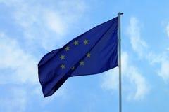 A UE embandeira Imagens de Stock Royalty Free