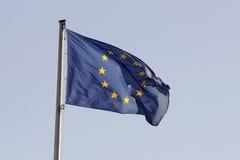 UE-flagga royaltyfri foto