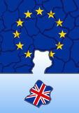 UE gubił Brytania Obraz Royalty Free