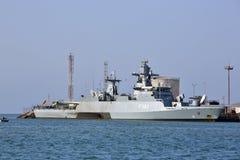 UE okręt wojenny F-262, Niemiecka wielocelowa korweta Obrazy Royalty Free