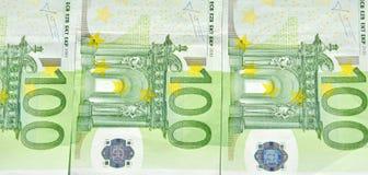 UE pieniądze Obrazy Royalty Free