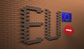 UE pojęcie Royalty Ilustracja
