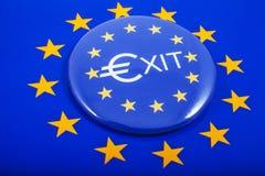 UE wychodzi Zdjęcia Stock