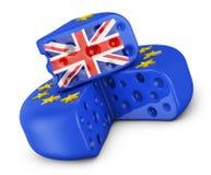 UE y pedazo Reino Unido del queso libre illustration