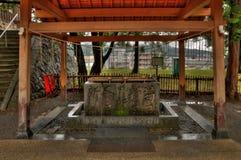 Ueda Castle is een oud Militair Fort in de Japanse Stad van Ueda in de Prefectuur van Nagano royalty-vrije stock foto's