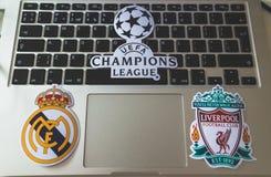 UEFA拥护同盟 库存图片