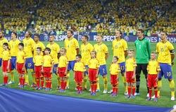 UEFA欧元2012年比赛瑞典对法国 库存照片