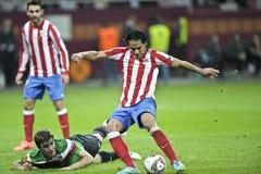 UEFA欧罗巴同盟最终布加勒斯特2012年 库存图片