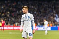 """UEFA欧罗巴同盟足球比赛发电机Kyiv †""""拉齐奥, 3月1日 库存照片"""