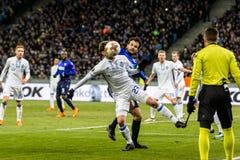 "UEFA欧罗巴同盟足球比赛发电机Kyiv †""拉齐奥, 3月1日 库存图片"