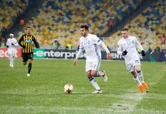 """UEFA欧罗巴同盟足球比赛发电机Kyiv †""""AEK, 2月 库存图片"""
