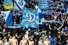 """UEFA欧罗巴同盟足球比赛发电机Kyiv †""""AEK, 2月 库存照片"""
