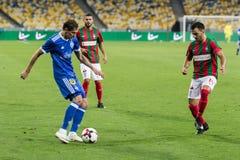 "UEFA欧罗巴同盟足球比赛发电机Kyiv †""Maritimo, Augu 库存图片"
