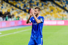 "UEFA欧罗巴同盟足球比赛发电机Kyiv †""Maritimo, Augu 免版税库存照片"