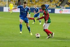 "UEFA欧罗巴同盟足球比赛发电机Kyiv †""Maritimo, Augu 免版税图库摄影"