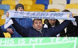 UEFA欧罗巴同盟:基辅迪纳摩v SS拉齐奥 免版税库存照片