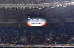 UEFA欧罗巴同盟:基辅迪纳摩v SS拉齐奥 免版税库存图片